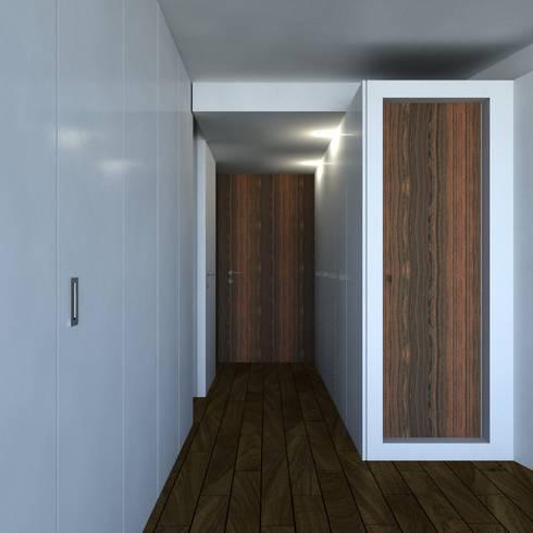 Habitação FR: Quartos modernos por ARTEQUITECTOS