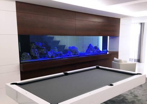 Design de Aquário Água Salgada : Corredores e halls de entrada  por Aquastation