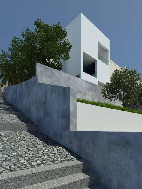 Habitação GF: Casas asiáticas por ARTEQUITECTOS