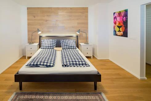 Schlafzimmer: skandinavische Schlafzimmer von Kathameno Interior Design e.U.