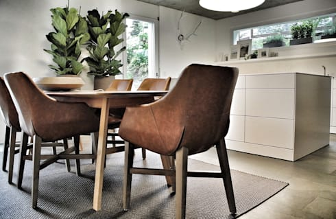 MALIN Massivholz Esstisch. Modern Dining Room By SOLIDMADE | Design  Furniture