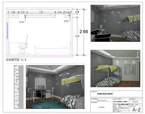 VISUALIZACIONES:  de estilo  por StudiosLiving