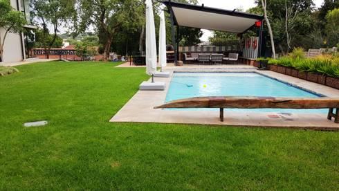 Lynnwood Strubenkop Estate : modern Pool by Gorgeous Gardens