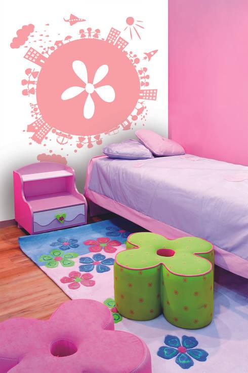 Collezione little ones murales parati e bordi di bianchi - Bordi adesivi per camerette ...