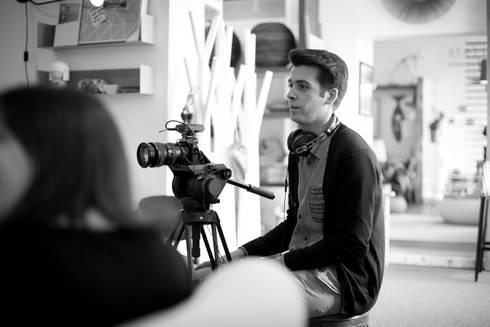 <q class='-first'>Making of</q> do vídeo para o novo site ShiStudio… :   por SHI Studio, Sheila Moura Azevedo Interior Design