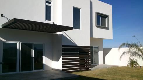 Casa Monterrey: Casas de estilo moderno por EL arquitectos