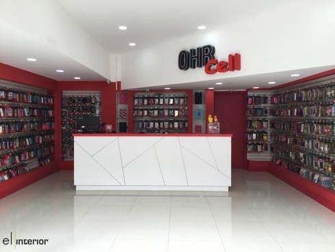 OHR : Espacios comerciales de estilo  por el interior