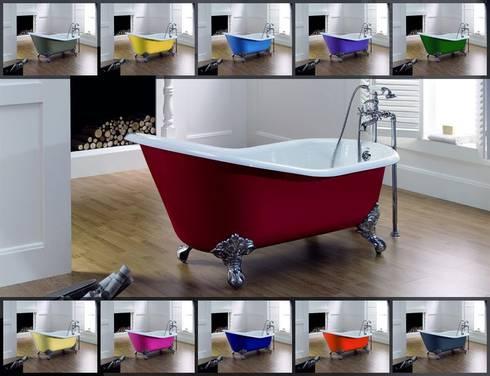 freistehende retro badewanne aus gu eisen so liebt es. Black Bedroom Furniture Sets. Home Design Ideas