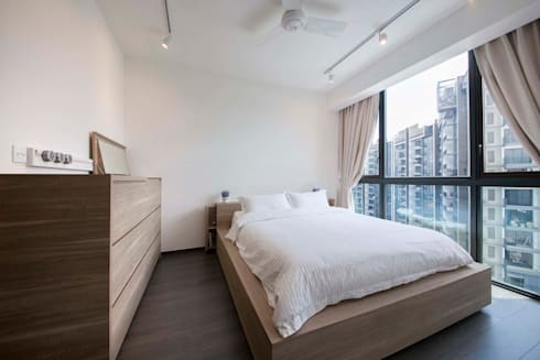 WATERBAY: scandinavian Bedroom by Eightytwo Pte Ltd
