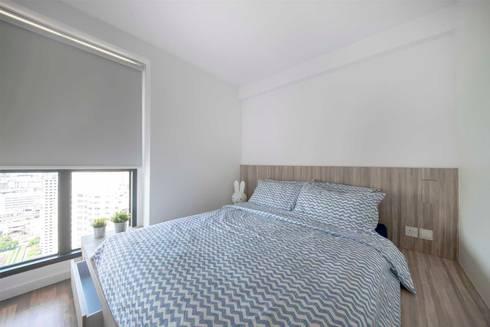 SKYTERRACE @ DAWSON: scandinavian Bedroom by Eightytwo Pte Ltd