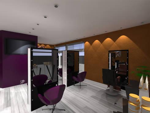 Aménagement d\'un salon de coiffure. par FP Design espace | homify