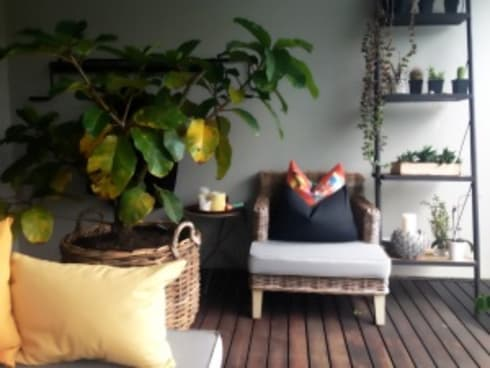 Simbithi Eco Estate 2:  Patios by Margaret Berichon Design