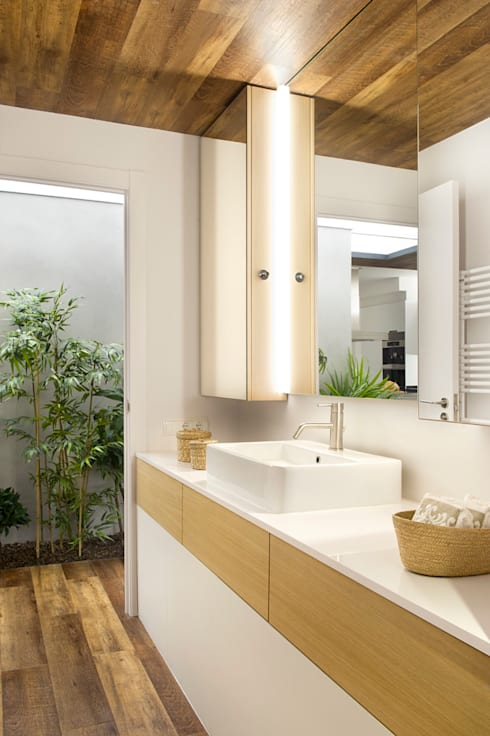 Casas de banho mediterrânicas por Egue y Seta