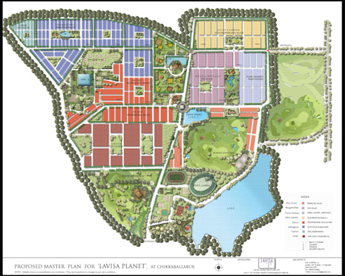 Lavasa Master Plan:  Commercial Spaces by Icarus Architects