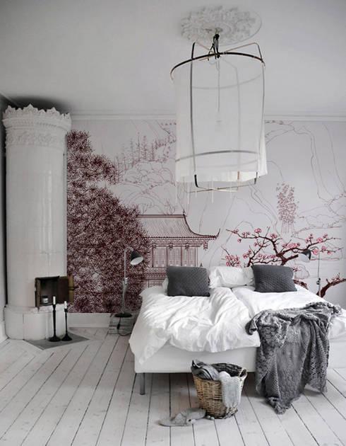 einrichtung mit minimalistisch asiatischem design, asiatische möbel: fernöstliche einrichtung, Design ideen