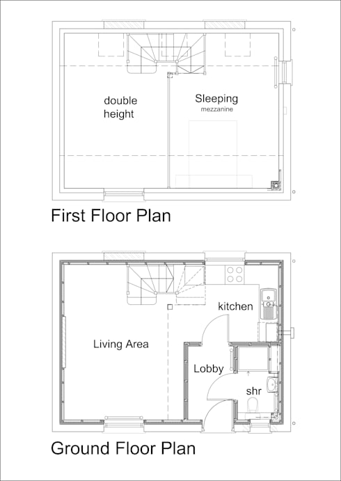 Chapel conversion kirton end by jmad architecture for Small chapel floor plans