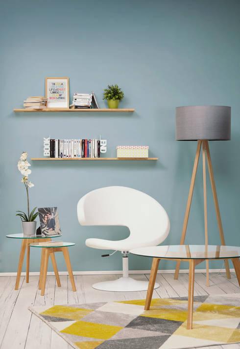 Décoration de salon style scandinave: Salon de style  par Alterego Design