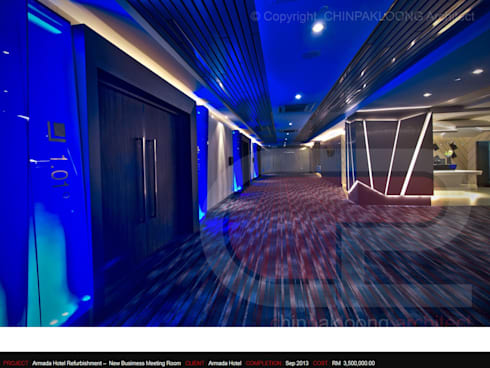 The Armada Hotel :  Event venues by CHINPAKLOONG Architect