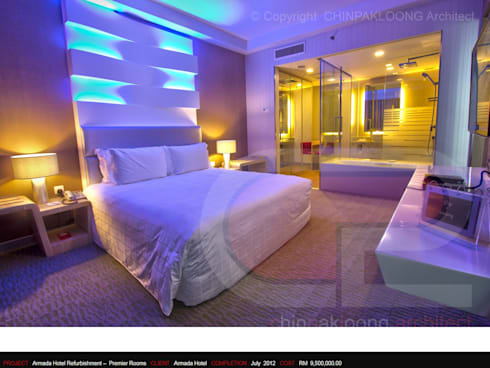 The Armada Hotel :  Hotels by CHINPAKLOONG Architect