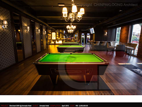 The Armada Hotel :  Bars & clubs by CHINPAKLOONG Architect