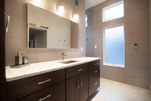 Master Bathroom Remodel: modern Bathroom by RedBird ReDesign
