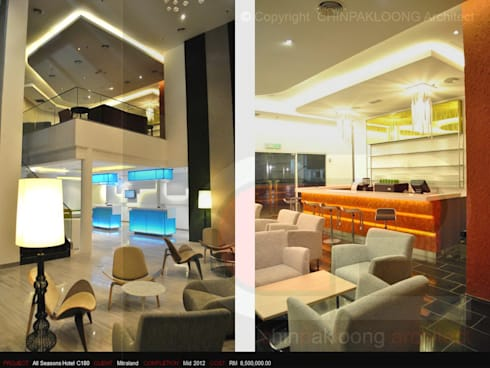 IBIS Styles Hotel @C180:  Hotels by CHINPAKLOONG Architect