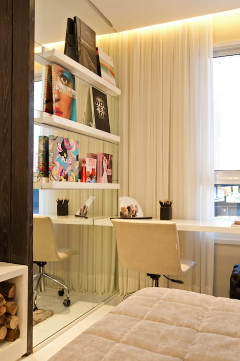 modern Bedroom by Chris Silveira & Arquitetos Associados