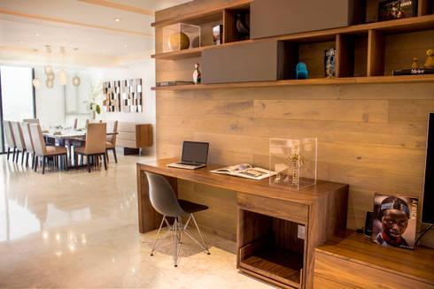 Departamento TG: Oficinas y tiendas de estilo  por Concepto Taller de Arquitectura