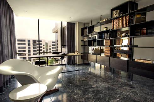 Departamento ML: Oficinas y tiendas de estilo  por Concepto Taller de Arquitectura
