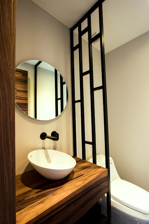 Kamar Mandi by Concepto Taller de Arquitectura