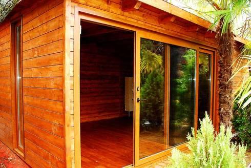 caseta habitable rustica jardines de estilo rstico de casetas de madera