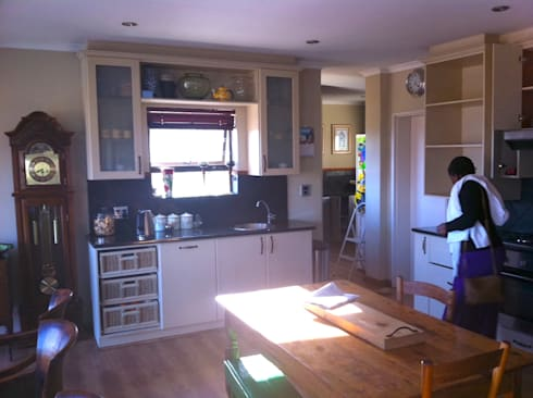 After make-over:   by Cape Kitchen Designs