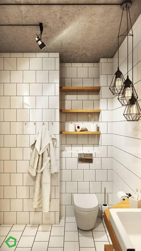 Loft 71: Ванные комнаты в . Автор – Polygon arch&des