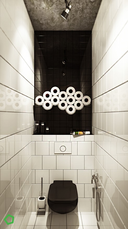 minimalistic Bathroom by Polygon arch&des