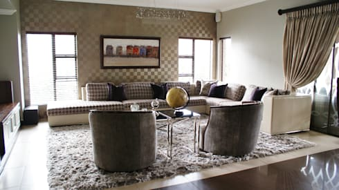 Living Spaces: modern Living room by Life Design