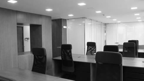 Sala de Trabalho: Escritórios  por ANSCAM