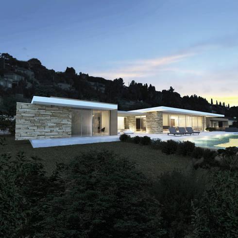villa e saint tropez par arrivetz belle homify. Black Bedroom Furniture Sets. Home Design Ideas