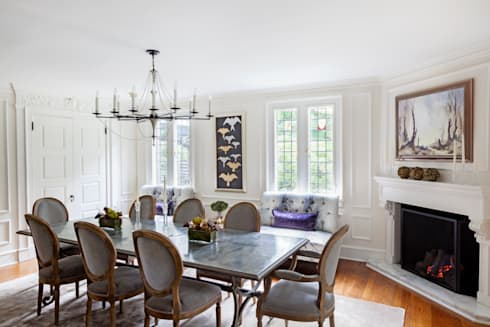 dining room : classic Dining room by Mel McDaniel Design