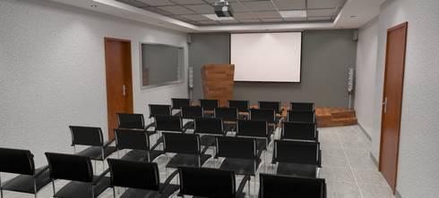 Sala de Usos Multiples: Estudio de estilo  por Atahualpa 3D