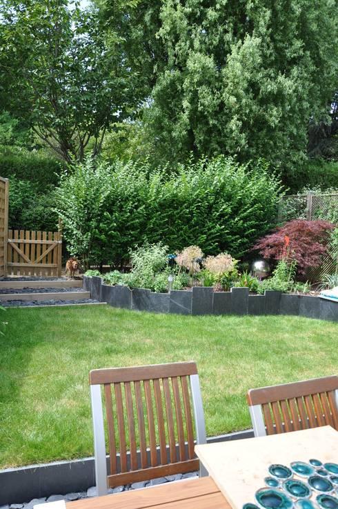 jardin en relief essonne por sophie durin empreinte paysag re homify. Black Bedroom Furniture Sets. Home Design Ideas