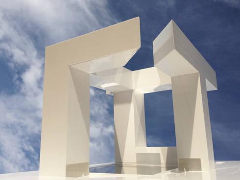 Edificio UTOPIA: Lojas e espaços comerciais  por Raul Garcia Studio