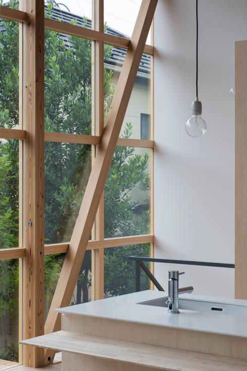 山路哲生建築設計事務所의  주방