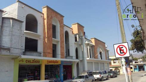 Casa Habitación: Casas de estilo moderno por ARCO +I