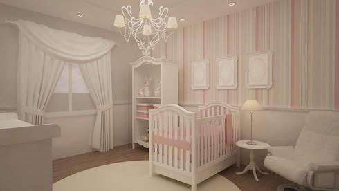 Habitaciones para niños y bebes: Recámaras infantiles de estilo clásico por Roccó