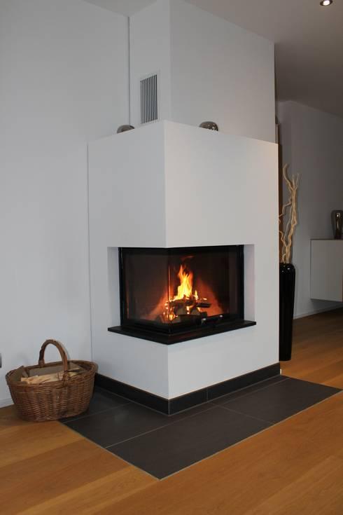 eckkamin von christoph l pken ofenbau gmbh homify. Black Bedroom Furniture Sets. Home Design Ideas
