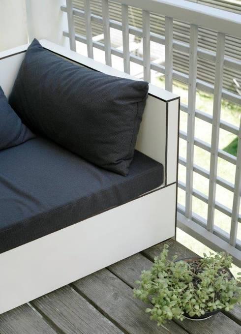 sitzlounge f r bakon oder terasse von schreinerei holzdesign ralf rapp homify. Black Bedroom Furniture Sets. Home Design Ideas