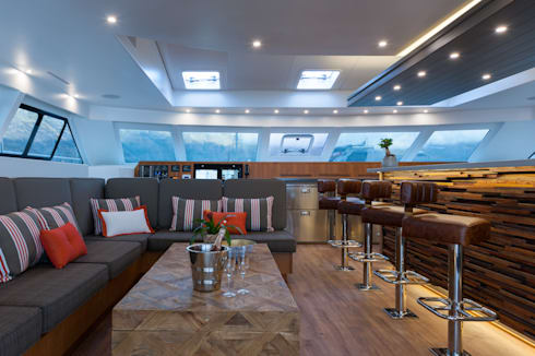 The Saloon: mediterranean Yachts & jets by ONNAH DESIGN
