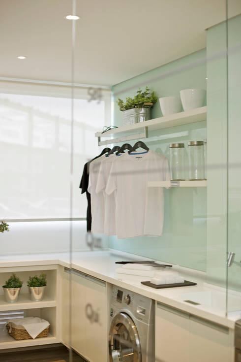 廚房 by Chris Silveira & Arquitetos Associados
