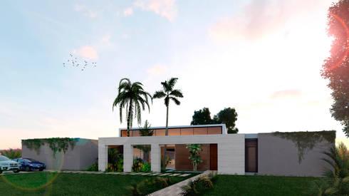 Casa La Morada HV: Casas de estilo moderno por COLECTIVO CREATIVO