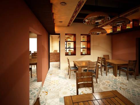 Remodelacion Gorditas La Guera:  de estilo  por Jeost Arquitectura